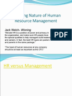 HRM 381 Chapter 1 Intro to HR