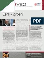 Eerlijk groen, Infor VBO nr. 12, 31 maart 2011