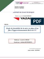 Rapport Stage Technique Ayyoub Lachkar