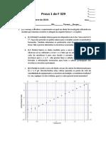 Prova 1 -Turma 2 - F329 2019 S1
