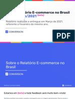 Relatorio Ecommerce No Brasil Mar 2021