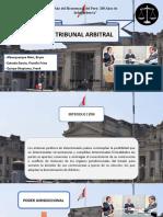 Tribunal Arbitral -  Diapositiva 111
