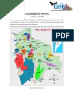 MAPA LINGUISTICA DE BOLIVIA