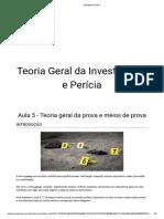 TEORIA GERAL DA INVESTIGAÇÃO 5
