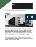 Bauhaus y Chicago