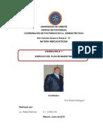 EJERCICIO DEL PLAN DE MARKETING LICDO RAFAEL MARTINEZ