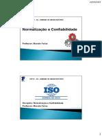 Aula 1 - Normalização ISO 9000