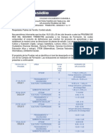 CIRCULAR 095 PRUEBAS DE RED SEGUNDO  TRIMESTRE 2021