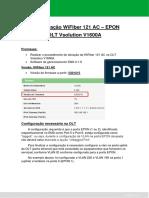 WiFiber 121 AC EPON_OLT Vsolution V1600A