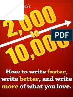 2k to 10k How to Write Faster Write Better and Write More of What You Love by Rachel Aaron z Lib