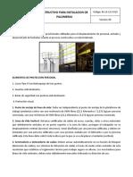 Procedimiento Parainstalacion de Palomeras Hcv Docx