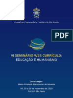 Anais Do VI Seminario Web Curriculo Educ