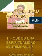 Espiritualidad matrimonial pp