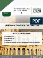 Tema 2 El Derecho Romano