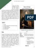 Guerra de Zapa - Wikipedia, la enciclopedia libre