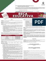 Convocatoria Beca Educativa Metepec 2021