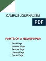 Campus Journalism Campus Journalism