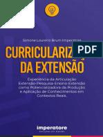 IMPERATORE 2019 Livro Curricularizacao Da Extensao