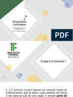 I Ciclo de Debate Curricular - IfMG