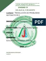 SESIONES - MODULOS UNIDAD IV -MATEMATICA II