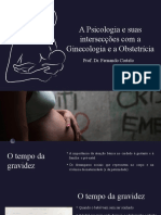 A Unidade de Ginecologia e Obstetrícia