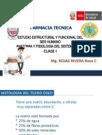 SISTEMA OSEO - CLASE I