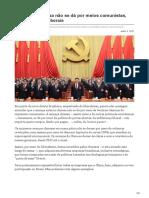 accale.org-A ameaça chinesa não se dá por meios comunistas mas por meios liberais