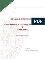 n. 11 Compilazione Registro Carico Scarico e Formulario Aprile2021