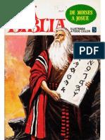 La Biblia - De Moises a Josue - No. 05 - Historieta