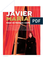 Entrevista a Javier Marías - Qué Leer