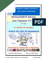 cours analyse des styles de management