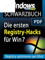 Schwarzbuch - Windows 7-Registry-Tricks