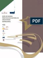 Guía de buenas prácticas en materia de Creatividad Empresarial