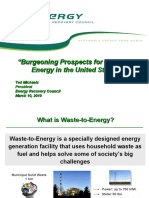 Waste to energy, good