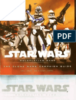 Star Wars Role Playing - Clone Wars