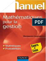 [Mini manuel] Legros, Benjamin - Mini-manuel de mathématiques pour la gestion _ cours + exos (2011, Dunod) - libgen.lc