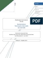 Bachelorstudium Technische Informatik 2021