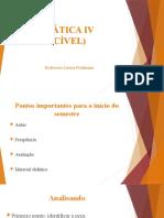 Prática IV - aula 1