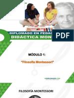 MODULO 1 - FILOSOFÍA MONTESSORI