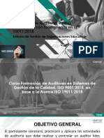 Auditor Líder ISO 21001