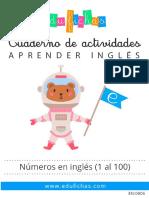 EN0006 Numeros Ingles Edufichas