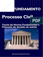 Processo Civil - Teoria Das Normas Fundamentais Do Processo Civil (Caderno de Aprofundamento)