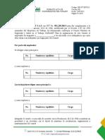Formato Acta de Conformacion Copasst