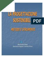 Progettazione Sostenibile 28.10.09
