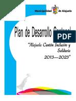 Plan estratégico Alajuela 2013 2023