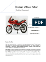 Pricing Strategy- Bajaj Pulsar