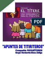 El titere una herramienta para la educacion