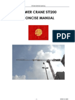 tower crane CONCISE_MANUAL_STT200