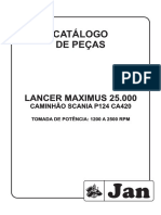 Lancer Maximus 25.000 Caminhao