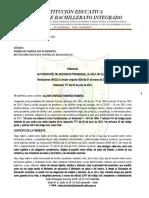 ACTA DE AUTORIZACIÓN DE ASISTENCIA OFICIALES  (Consentimiento Informado - 2021)
